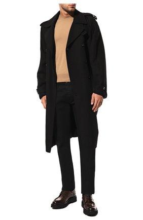 Мужские джинсы прямого кроя TOM FORD черного цвета, арт. BRJ05/TFD002 | Фото 2