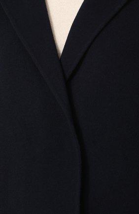 Шерстяное пальто с меховой отделкой | Фото №5