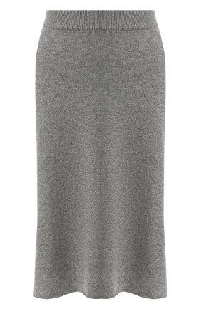 Вязаная кашемировая юбка Not Shy бежевая   Фото №1
