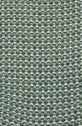 Женские носки с металлизированной нитью ROYALTIES зеленого цвета, арт. H0NEY/PETR0LE | Фото 2