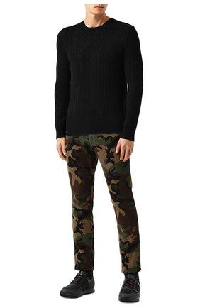Мужской кашемировый джемпер POLO RALPH LAUREN черного цвета, арт. 710613099 | Фото 2