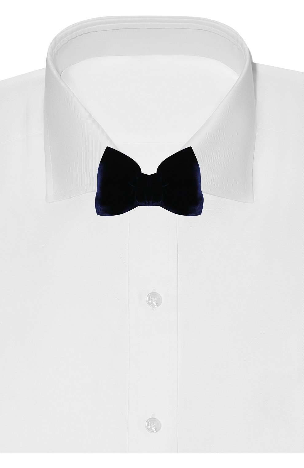 Мужской галстук-бабочка из вискозы TOM FORD фиолетового цвета, арт. 4TF01/4CH | Фото 2