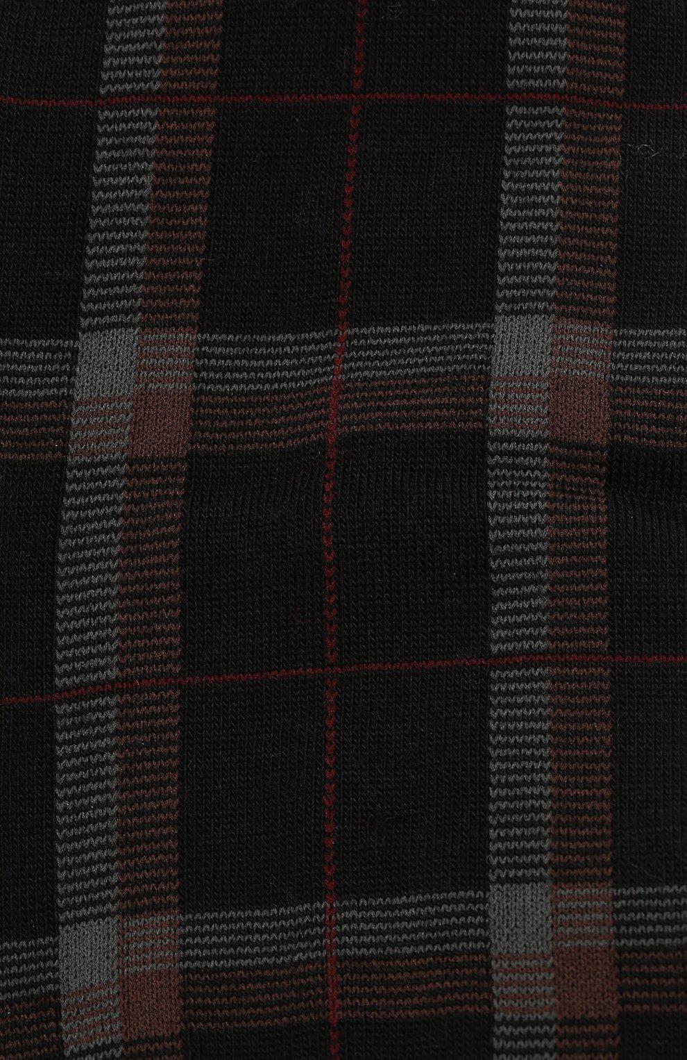 Мужские шерстяные носки PANTHERELLA бордового цвета, арт. 595473 | Фото 2