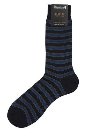 Мужские шерстяные носки PANTHERELLA темно-синего цвета, арт. 595474 | Фото 1