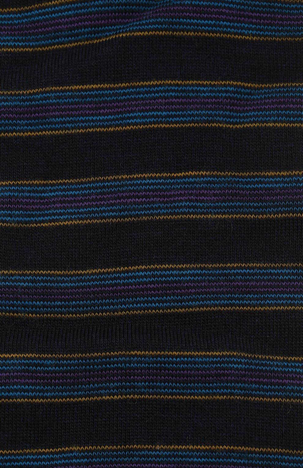 Мужские шерстяные носки PANTHERELLA темно-синего цвета, арт. 595474 | Фото 2