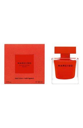 Парфюмерная водаnarciso rouge NARCISO RODRIGUEZ бесцветного цвета, арт. 884485BP   Фото 2