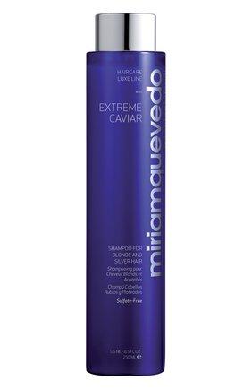 Шампунь для светлых и седых волос Extreme Caviar | Фото №1