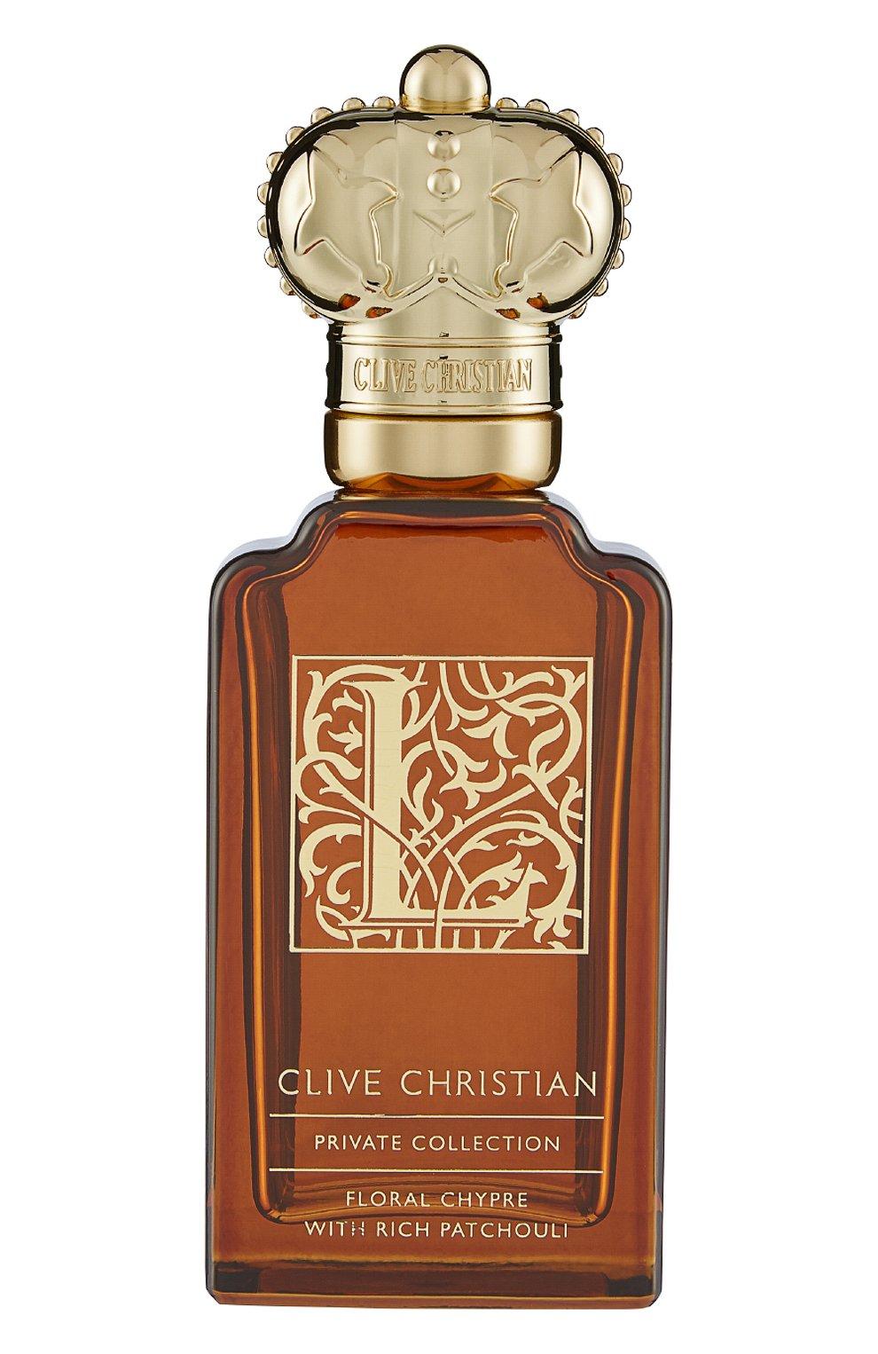 Духи l floral chypre CLIVE CHRISTIAN бесцветного цвета, арт. 652638004570 | Фото 1 (Статус проверки: Проверена категория; Ограничения доставки: flammable)
