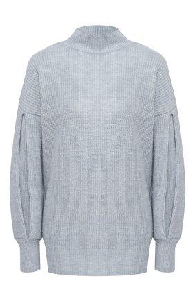 Вязаный пуловер с высоким воротником | Фото №1