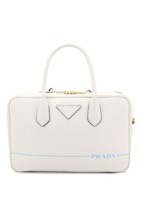 Сумка-тоут Mirage Prada белая цвета | Фото №1