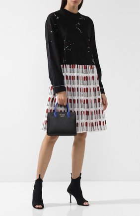Женская сумка-тоут bibliothèque PRADA разноцветного цвета, арт. 1BA204-2EVL-F0LZS-OOF | Фото 2
