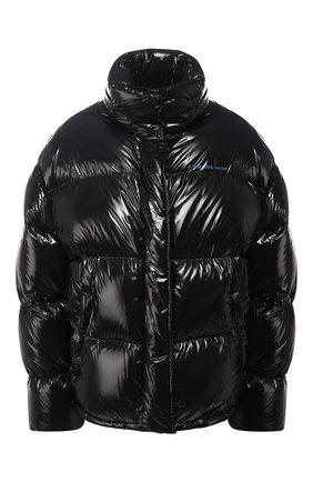 Стеганая куртка с воротником-стойкой | Фото №1