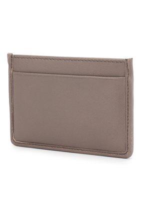 Кожаный футляр для кредитных карт с логотипом бренда | Фото №2