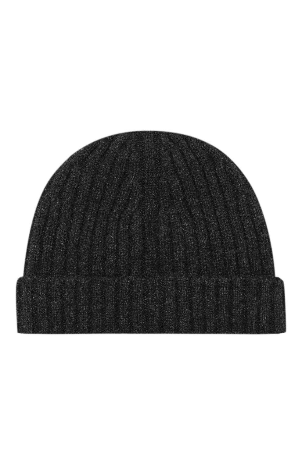 Мужская кашемировая шапка BOSS черного цвета, арт. 50391584 | Фото 2