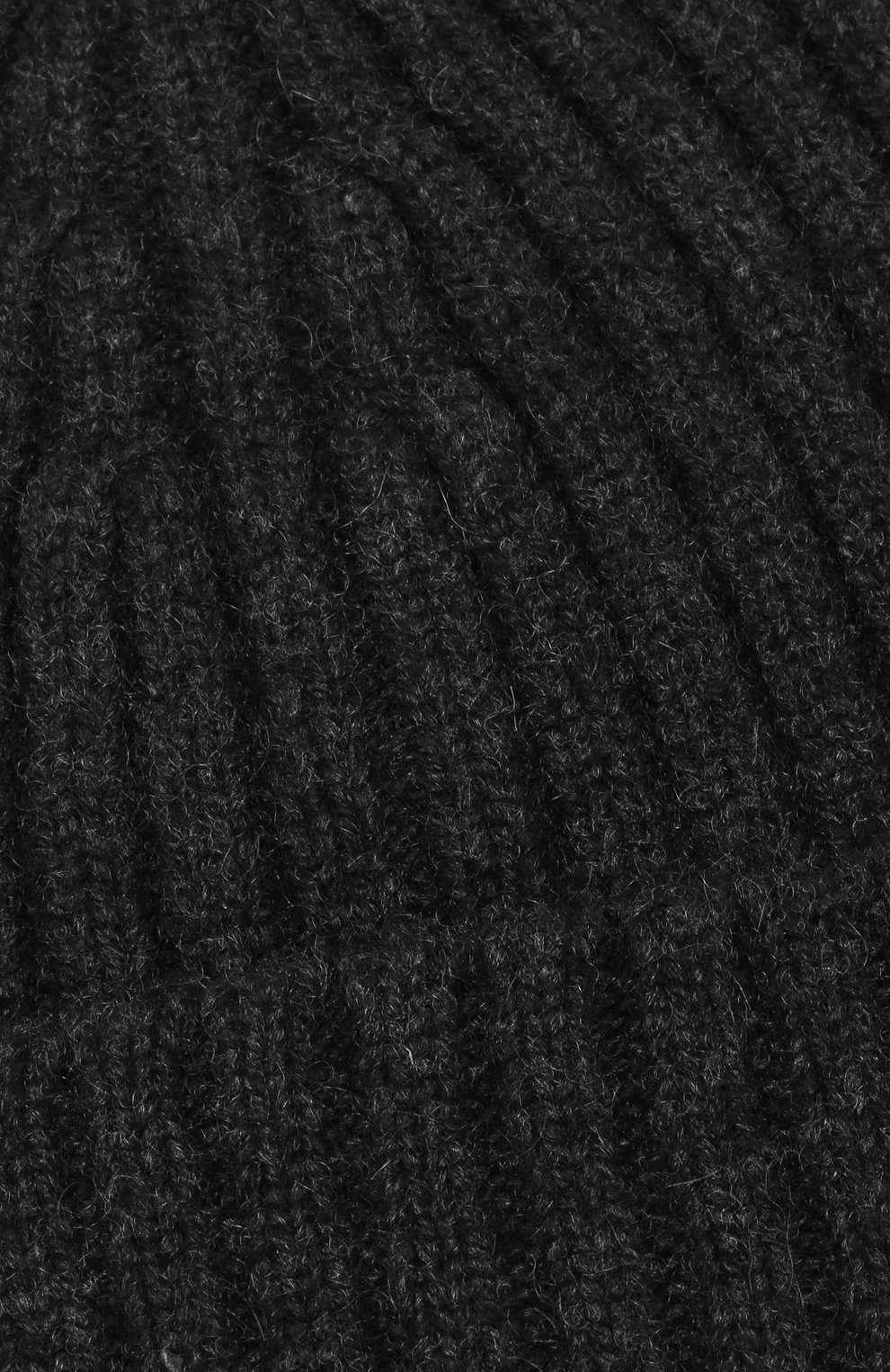 Мужская кашемировая шапка BOSS черного цвета, арт. 50391584 | Фото 3