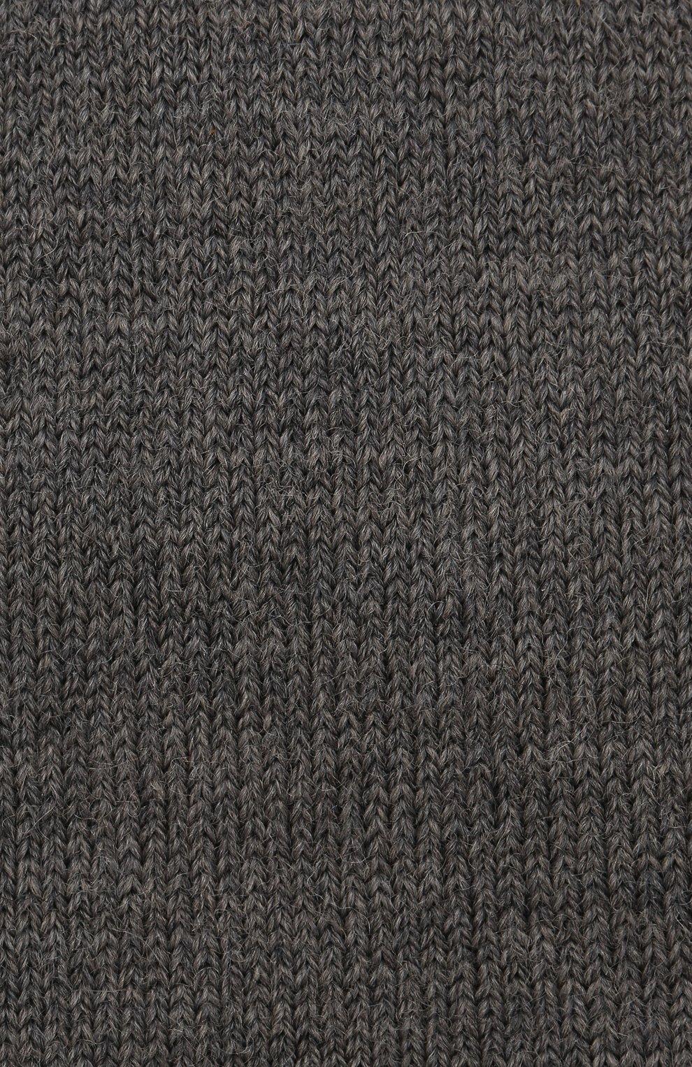 Детские гольфы comfort wool FALKE серого цвета, арт. 11488 | Фото 2