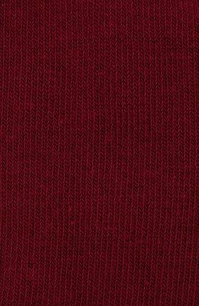 Детские гольфы из хлопка FALKE бордового цвета, арт. 11645 | Фото 2