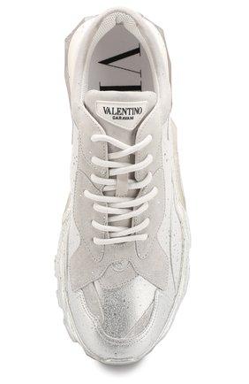 Мужские кожаные кроссовки valentino garavani bounce VALENTINO белого цвета, арт. QY0S0B21/VAG | Фото 5