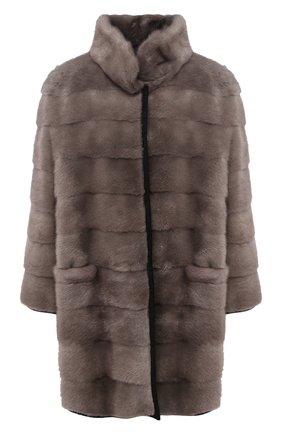 Двустороннее меховое пальто | Фото №1