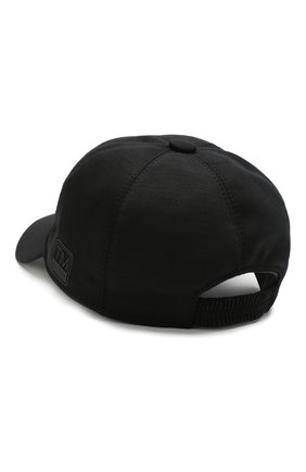 Мужской шерстяная бейсболка Z ZEGNA черного цвета, арт. Z4I60/B2A | Фото 2