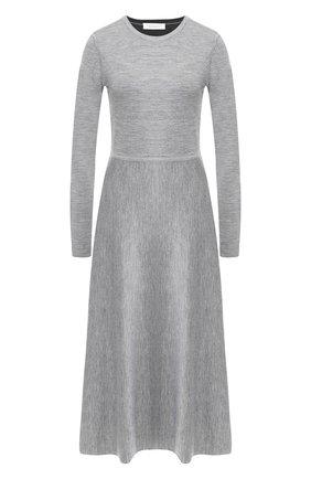 Платье-миди из смеси шерсти и кашемира | Фото №1
