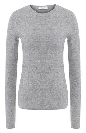 Женская пуловер из смеси шерсти и кашемира GABRIELA HEARST серого цвета, арт. F18GH920 | Фото 1