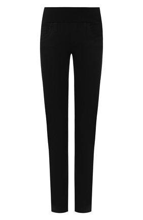Женские однотонные джинсы прямого кроя PIETRO BRUNELLI черного цвета, арт. JP0041/C00527 | Фото 1