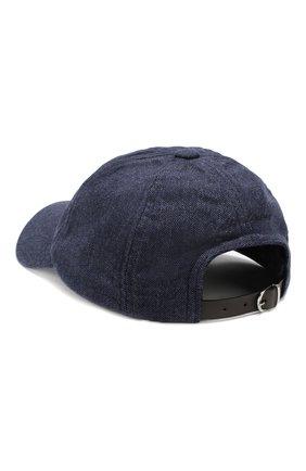 Мужской шерстяная бейсболка RALPH LAUREN синего цвета, арт. 790727485 | Фото 2