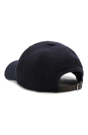 Мужской шерстяная бейсболка с нашивкой RALPH LAUREN темно-синего цвета, арт. 790728202 | Фото 2