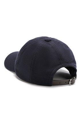 Мужской шерстяная бейсболка с вышивкой RALPH LAUREN темно-синего цвета, арт. 790728203 | Фото 2