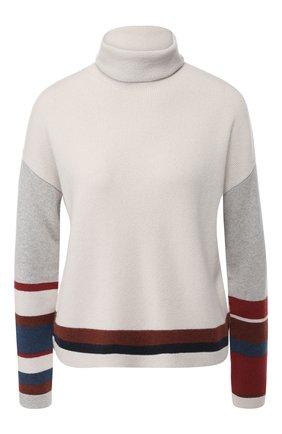 Кашемировый пуловер с воротником-стойкой | Фото №1