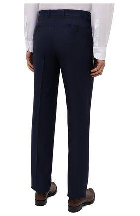 Мужской шерстяной костюм CANALI синего цвета, арт. 11280/10/AA00099   Фото 5 (Материал внешний: Шерсть; Рукава: Длинные; Big photo: Big photo; Костюмы М: Однобортный; Стили: Классический; Материал подклада: Купро; Статус проверки: Проверена категория)
