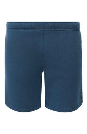 Хлопковые шорты с поясом на резинке   Фото №1