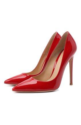 Женская лаковые туфли gianvito 120 на шпильке GIANVITO ROSSI красного цвета, арт. G21531.11RIC.VERTABS | Фото 1