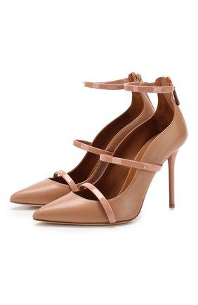 Кожаные туфли Maureen на шпильке | Фото №1