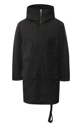 Парка на молнии с капюшоном BLACKBARRETT черная | Фото №1