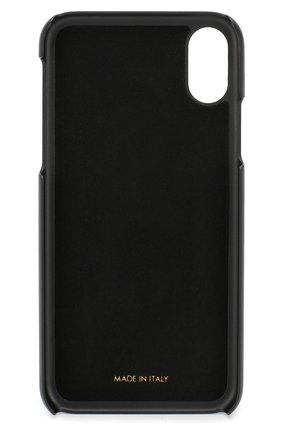 Кожаный чехол для iPhone X Dolce & Gabbana  | Фото №2