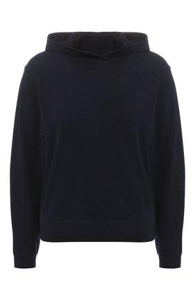 Кашемировый пуловер с капюшоном Vince черный | Фото №1