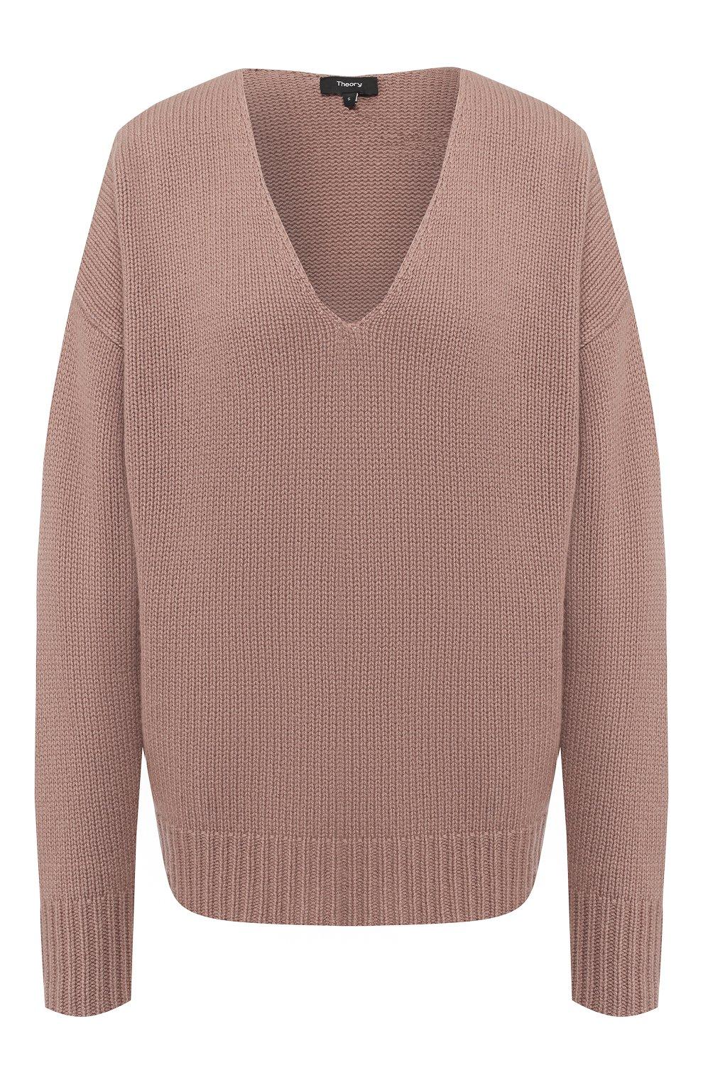 0414a588ea59 Кашемировый пуловер с V-образным вырезом