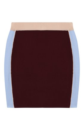 Мини-юбка из вискозы | Фото №1