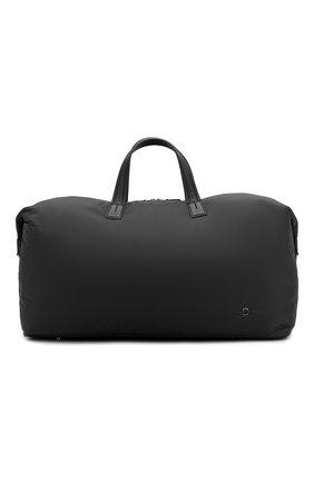 Мужская текстильная дорожная сумка LORO PIANA черного цвета, арт. FAF6681 | Фото 1