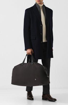 Мужская текстильная дорожная сумка LORO PIANA черного цвета, арт. FAF6681 | Фото 2
