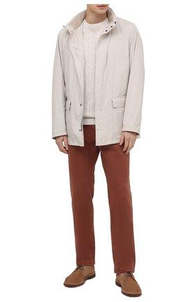 Мужские джинсы LORO PIANA бордового цвета, арт. FAG1329 | Фото 2