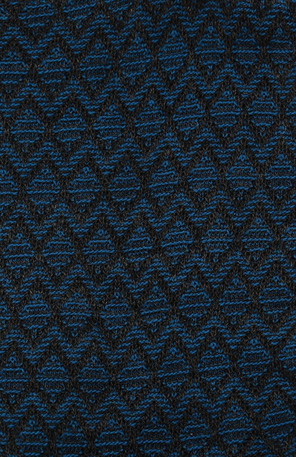 Мужские шерстяные носки PANTHERELLA бирюзового цвета, арт. 593061 | Фото 2