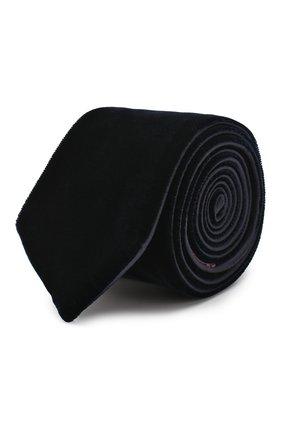 Мужской галстук из вискозы GIORGIO ARMANI синего цвета, арт. 360088/8A961 | Фото 1