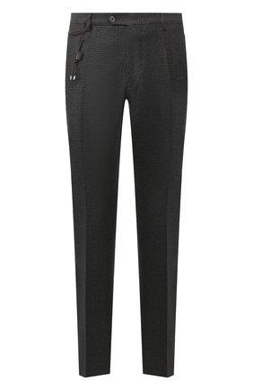 Мужской шерстяные брюки BERWICH темно-серого цвета, арт. SC/1/AN4326 | Фото 1