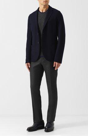 Мужской шерстяные брюки BERWICH темно-серого цвета, арт. SC/1/AN4326 | Фото 2
