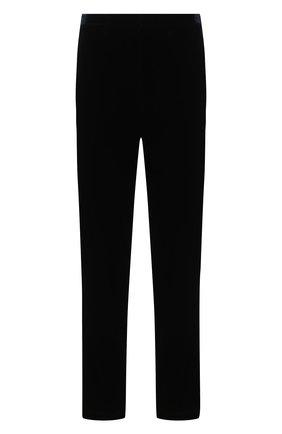 Мужской брюки из вискозы прямого кроя GIORGIO ARMANI синего цвета, арт. 8WGPP012/T0025 | Фото 1