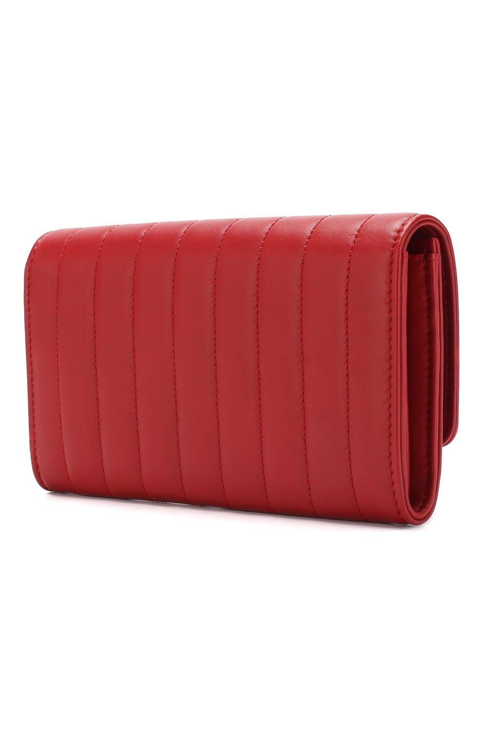 Кожаный кошелек Vicky с клапаном | Фото №2