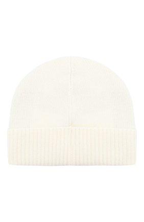 Мужская шерстяная шапка с логотипом бренда MONCLER белого цвета, арт. D2-091-00294-00-09912 | Фото 2